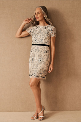 BHLDN Boswell Beaded Mini Dress