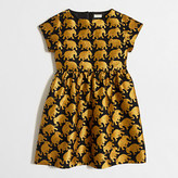 J.Crew Factory Girls' golden elephant dress