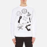 Vivienne Westwood Men's News Sweatshirt White