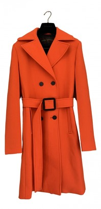 Louis Vuitton Orange Wool Coats