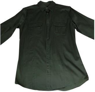 Gucci Khaki Cotton Shirts