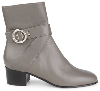Jimmy Choo Blanka Leather Ankle Boots