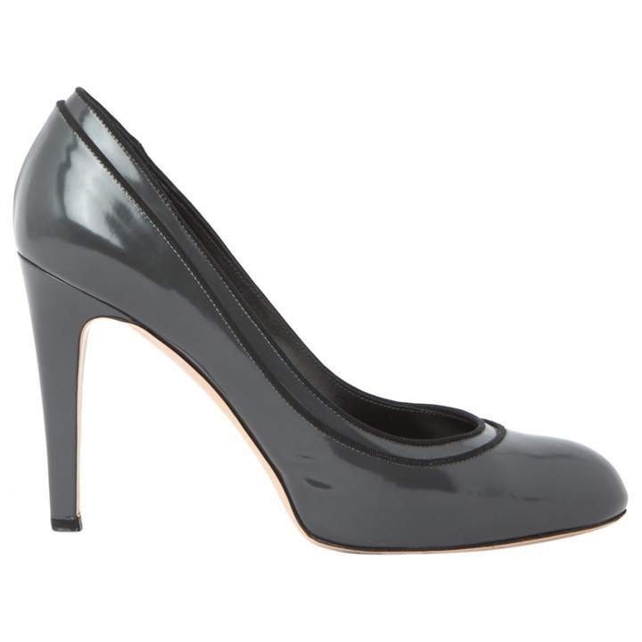 Gianvito Rossi Grey Leather Heels