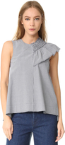Cédric Charlier Sleeveless Blouse