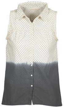 Teddy Smith CAMILLE women's Shirt in White