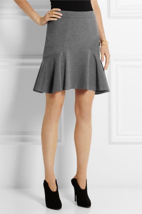 Diane von Furstenberg Carlita flared stretch-jersey skirt