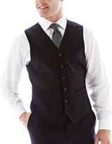 JCPenney Stafford Executive Super 100 Wool Vest - Classic