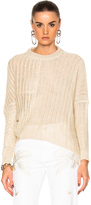 Stella McCartney Chunky Stitch Sweater