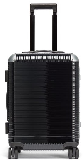 FPM Milano Bank Light Spinner 53 Cabin Suitcase - Black