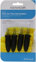 Kitchen Craft Large Corn on the Cob Holders- card of four