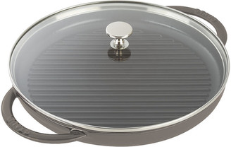 Staub Round Steam Grill - Graphite Gray