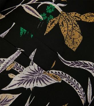 Diane von Furstenberg Esther Floral Print Jacket