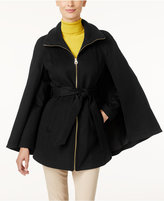 Laundry by Shelli Segal Petite Belted Cape, Only at Macy's