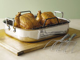 All-Clad 13x16-in. Stainless Steel Stainless Roasting Set with Rack