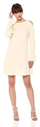 Glamorous Women's Tie Sleeve Sweat Dress