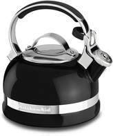 KitchenAid Onyx Black 2.0-Quart Kettle with Full Stainless Steel Handle and Trim Band