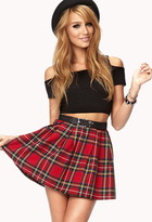 Forever 21 Cool Girl Plaid Skirt