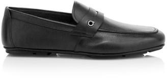 Salvatore Ferragamo Sigfrid Leather Penny Loafers