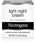 Neutrogena Light Night Cream 2.25 oz (Pack of 10)