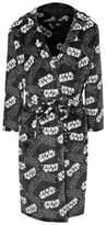 George Star Wars Grey Logo Hooded Dressing Gown