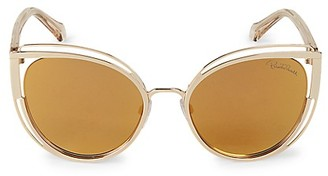 Roberto Cavalli 56MM Cat Eye Sunglasses