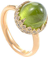 Pomellato 18K Rose Gold 0.59 Ct. Tw. Diamond & Peridot Ring
