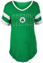 5th & Ocean Women's Boston Celtics Hang Time Glitter T-Shirt