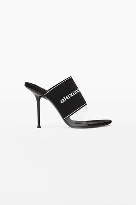 Alexander Wang Sienna Logo Elastic Sandal