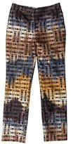 Wes Gordon Patterned Straight-Leg Pants