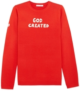 Bella Freud God Created Merino Wool Sweater
