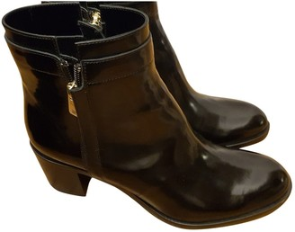 Fratelli Rossetti \N Black Patent leather Ankle boots