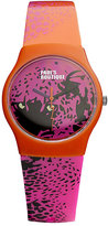 Pauls Boutique Ladies' Printed Strap Watch With Logo Dial