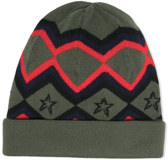 Perfect Moment Star Merino Beanie Hat