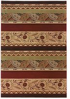 "Oriental Weavers 053R Genre Area Rug, 5' 3"" by 7' 9"""