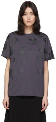 McQ Black Swallow Boyfriend T-Shirt