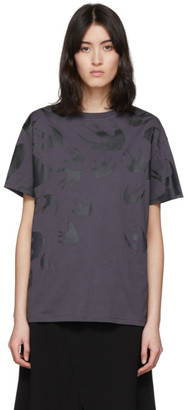 McQ Black Swallow Boyfriend T-Shirt