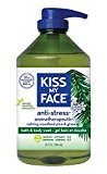 Kiss My Face Anti-stress Shower Gel, Bath and Body Wash, Value Size 32 oz