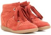 Etoile Isabel Marant Bobby suede wedge sneakers