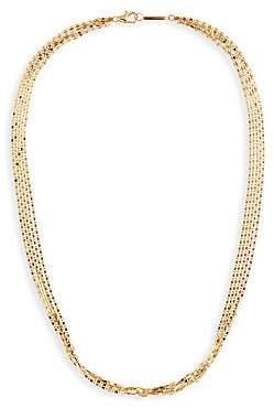 Lana Women's Malibu 14K Yellow Gold 5-Strand Chain Choker