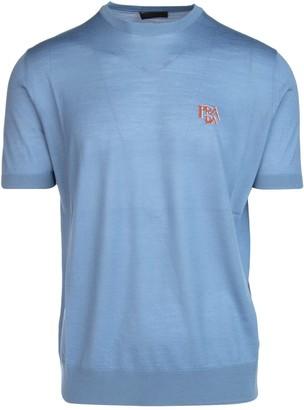 Prada Logo Knit T-Shirt