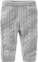 Osh Kosh Baby Girl Gray Cable Knit Sweater Leggings