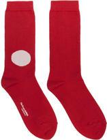 Blue Blue Japan Red Japanese Flag Socks