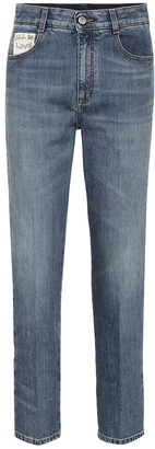 Stella McCartney High-waisted straight jeans