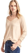 Gap Soft open V-neck sweater