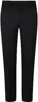 John Lewis Washable Tailored Suit Trousers, Black