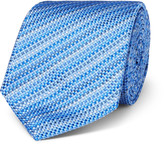 Turnbull & Asser - 8cm Striped Silk-jacquard Tie