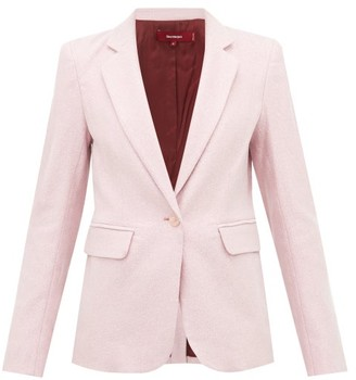 Sies Marjan Mason Single-breasted Lurex Jacket - Light Pink
