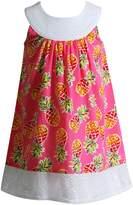 Youngland Toddler Girl Pineapple Crocheted Sundress