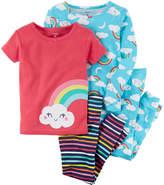 Carter's 4-pc. Pajama Set - Toddler Girls 2T-5T