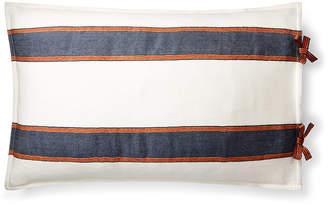 """Lauren Ralph Lauren Tessa Striped 16"""" X 24"""" Decorative Throw Pillow Bedding"""